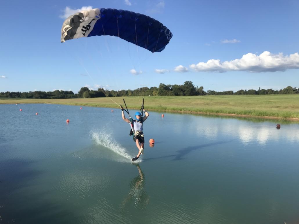 Canopy landing skills